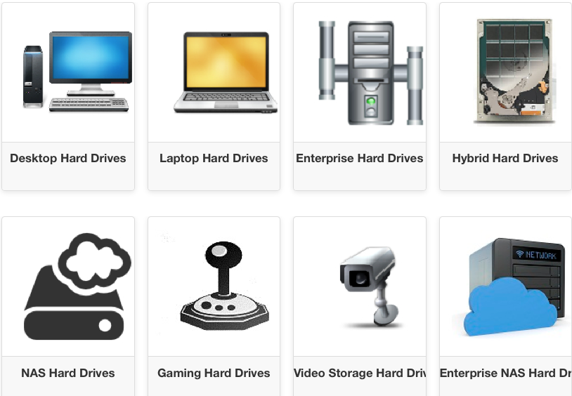 INDIE HUSTLE - HARDDRIVES - VIA NEWEGG